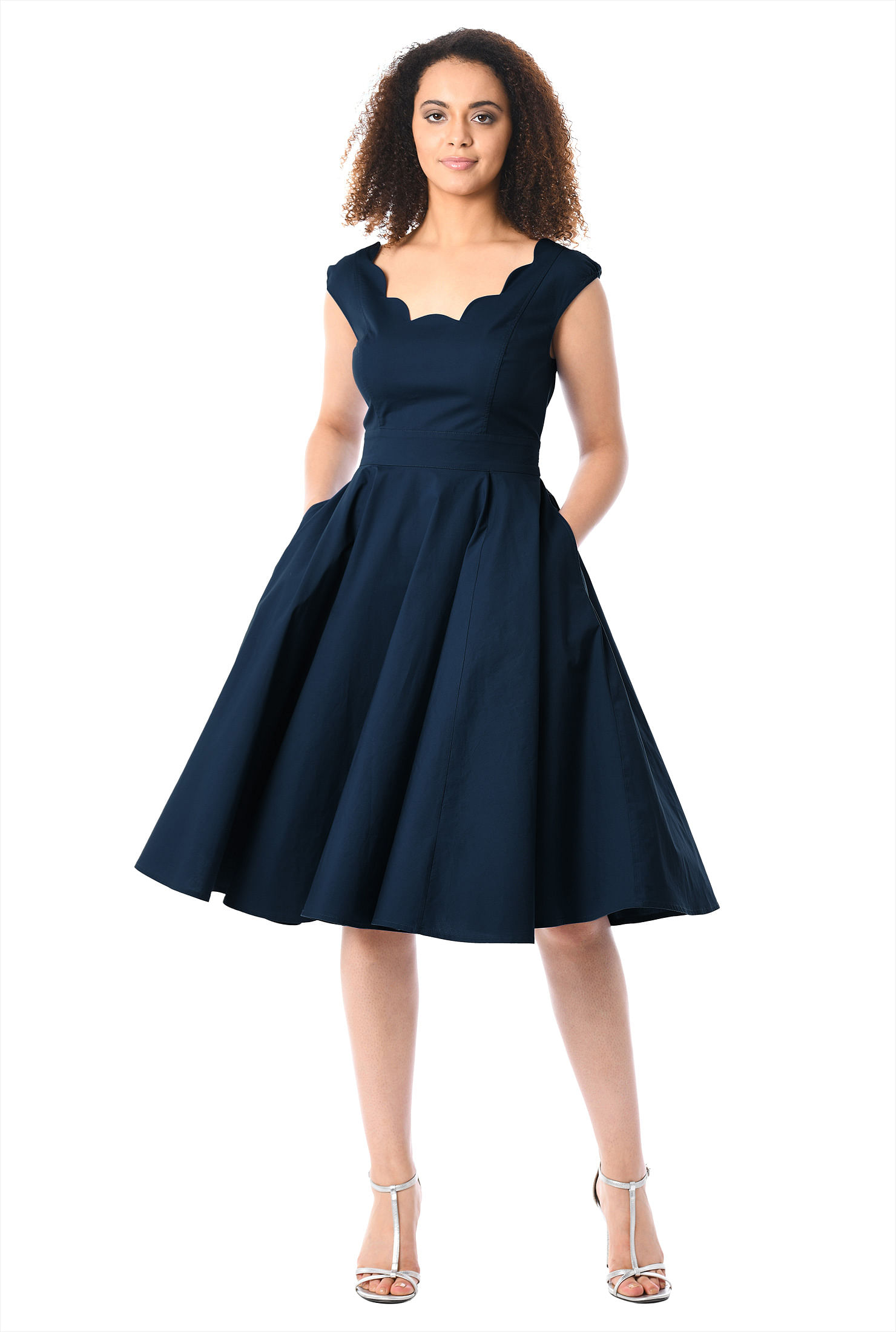 eShakti Women's Virginia dress