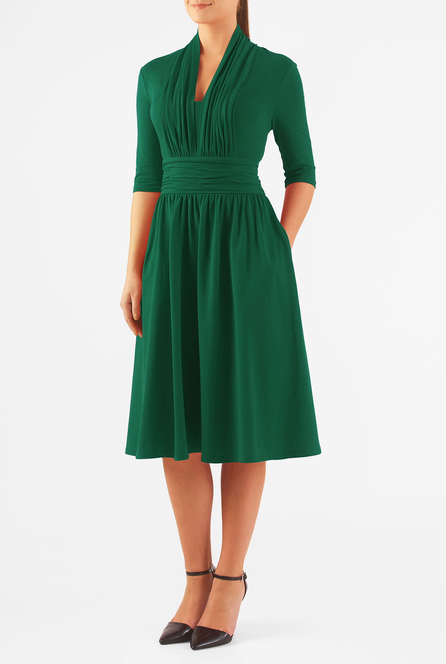 Jersey Knit Casual Dresses: piserialajax.cf - Your Online Dresses Store! Get 5% in rewards with Club O!