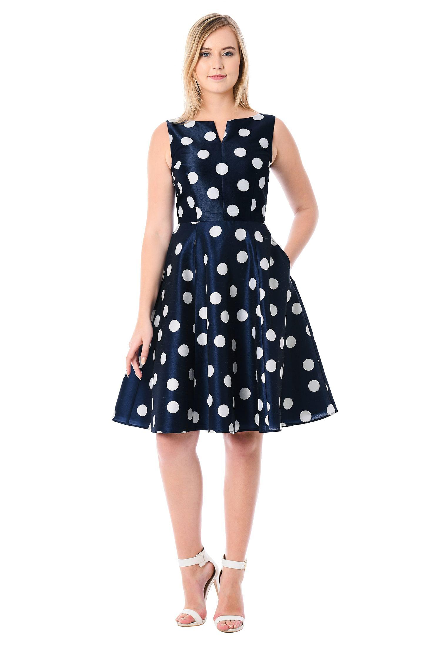 fa3bf79faab back zip dresses, boat neck dresses, Dry clean dresses, flared skirt dresses