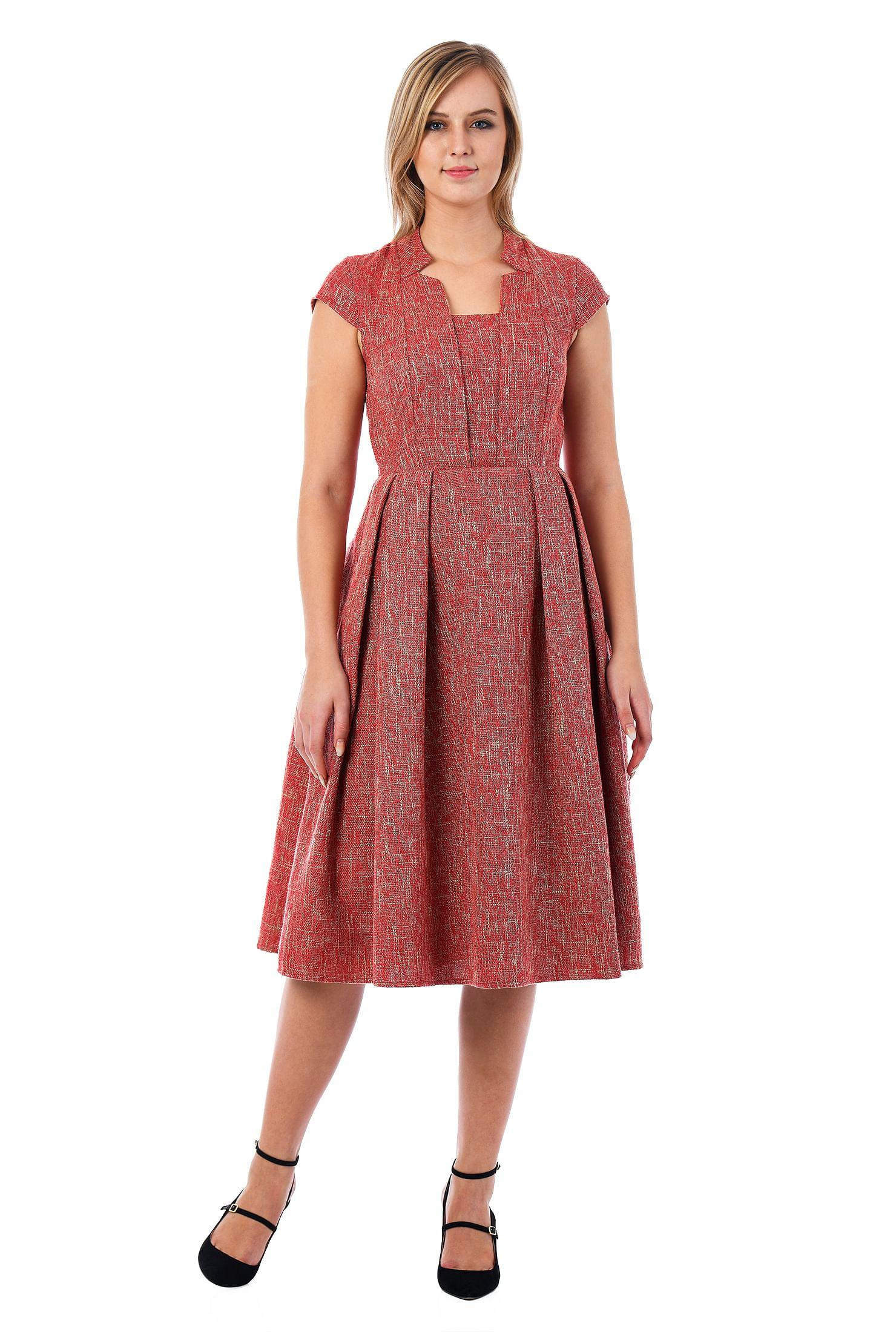10b8642e6c8 Fit And Flare Full Skirt Dress - Data Dynamic AG