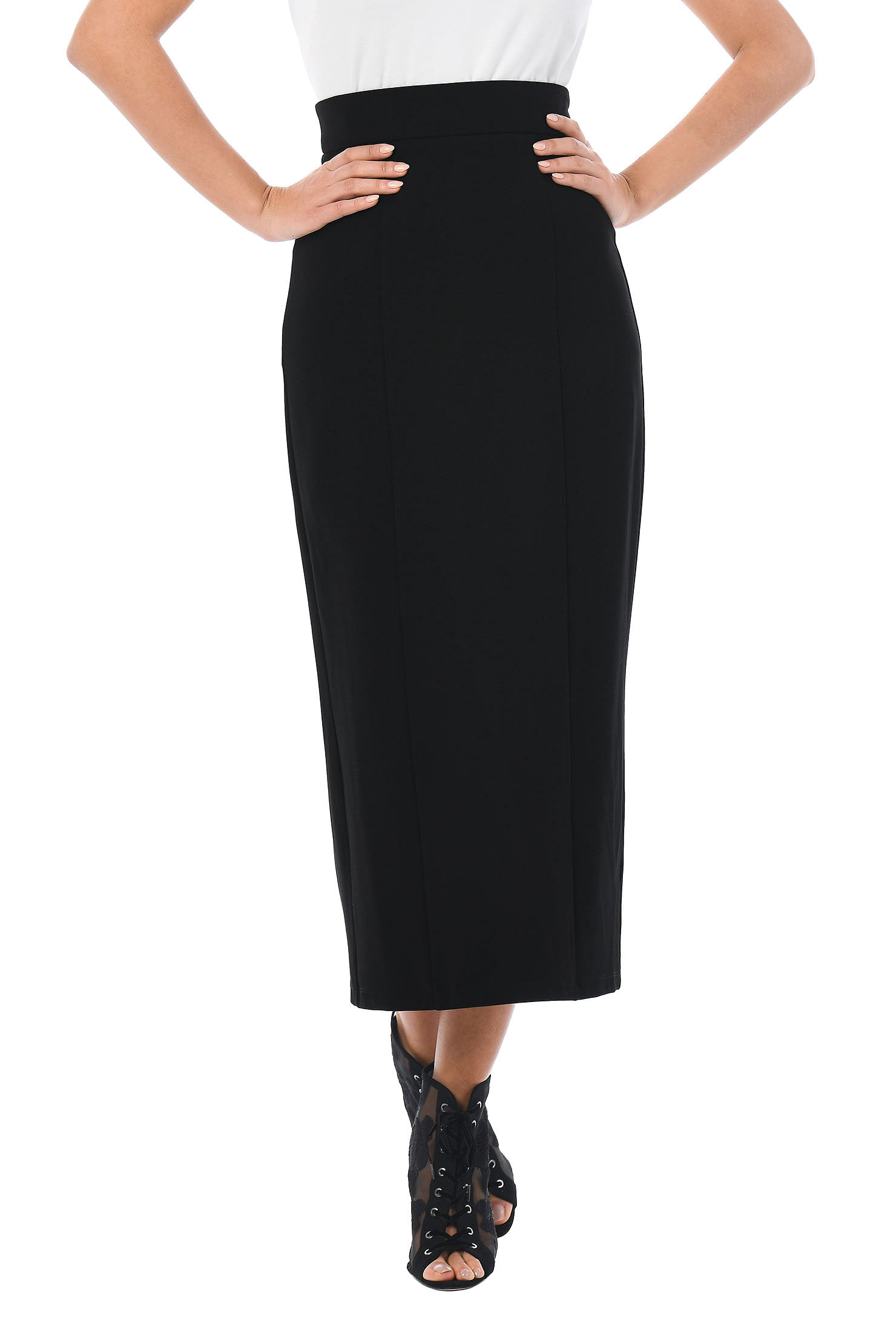 357d70bf7e above ankle length skirts, Back vent skirts, elastic back waist skirts,  heavier