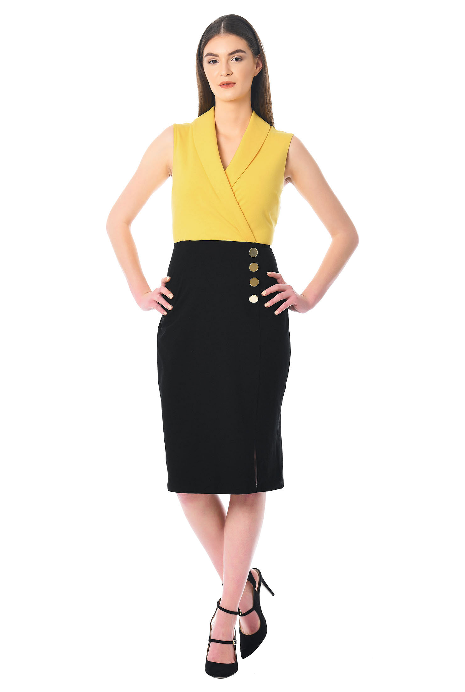 Pencil Dresses below the Knee