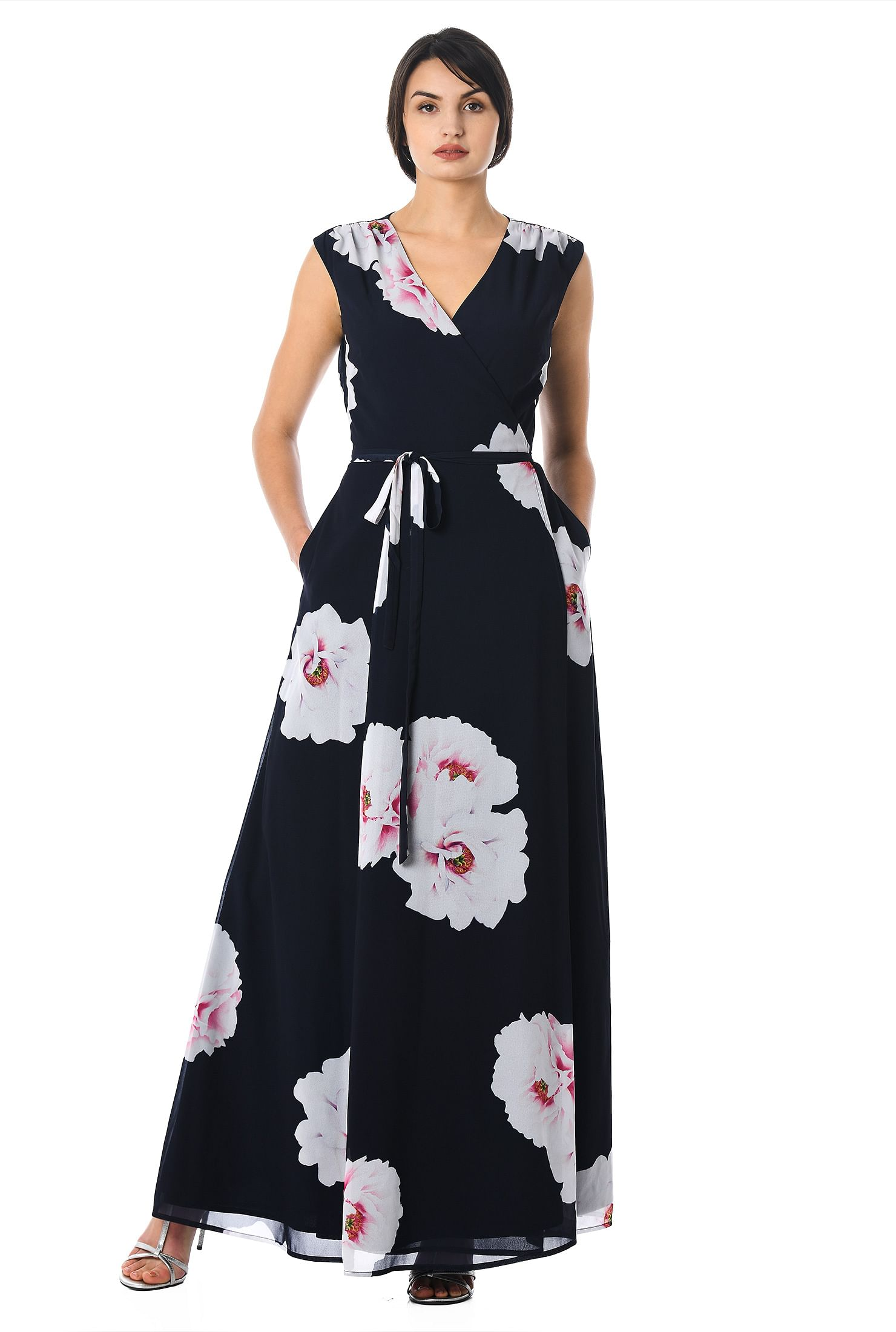 19c29186 dolman sleeve dresses, floral print dresses, Full Length Dresses,  lightweight Dresses,
