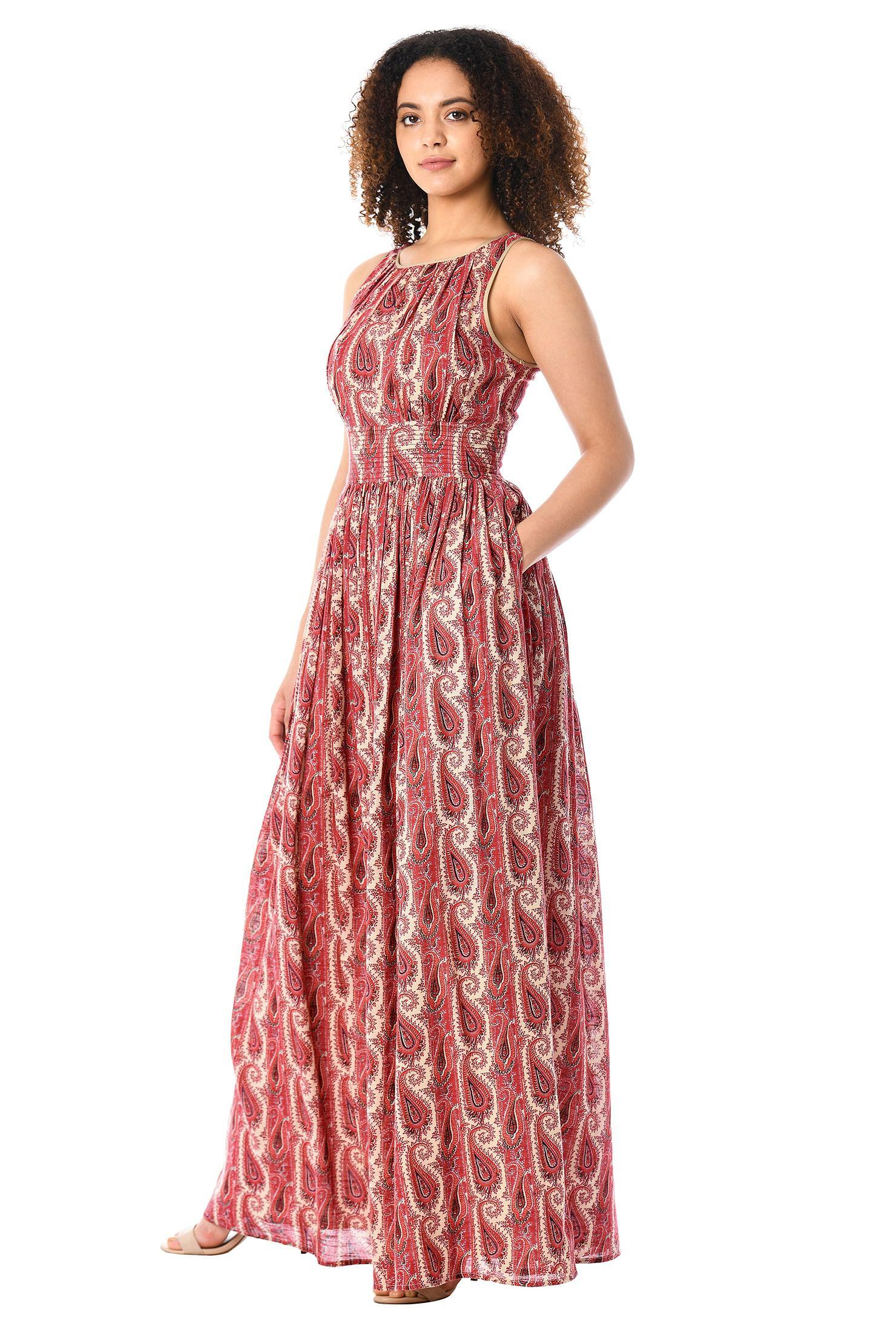 Ruched Maxi Dress