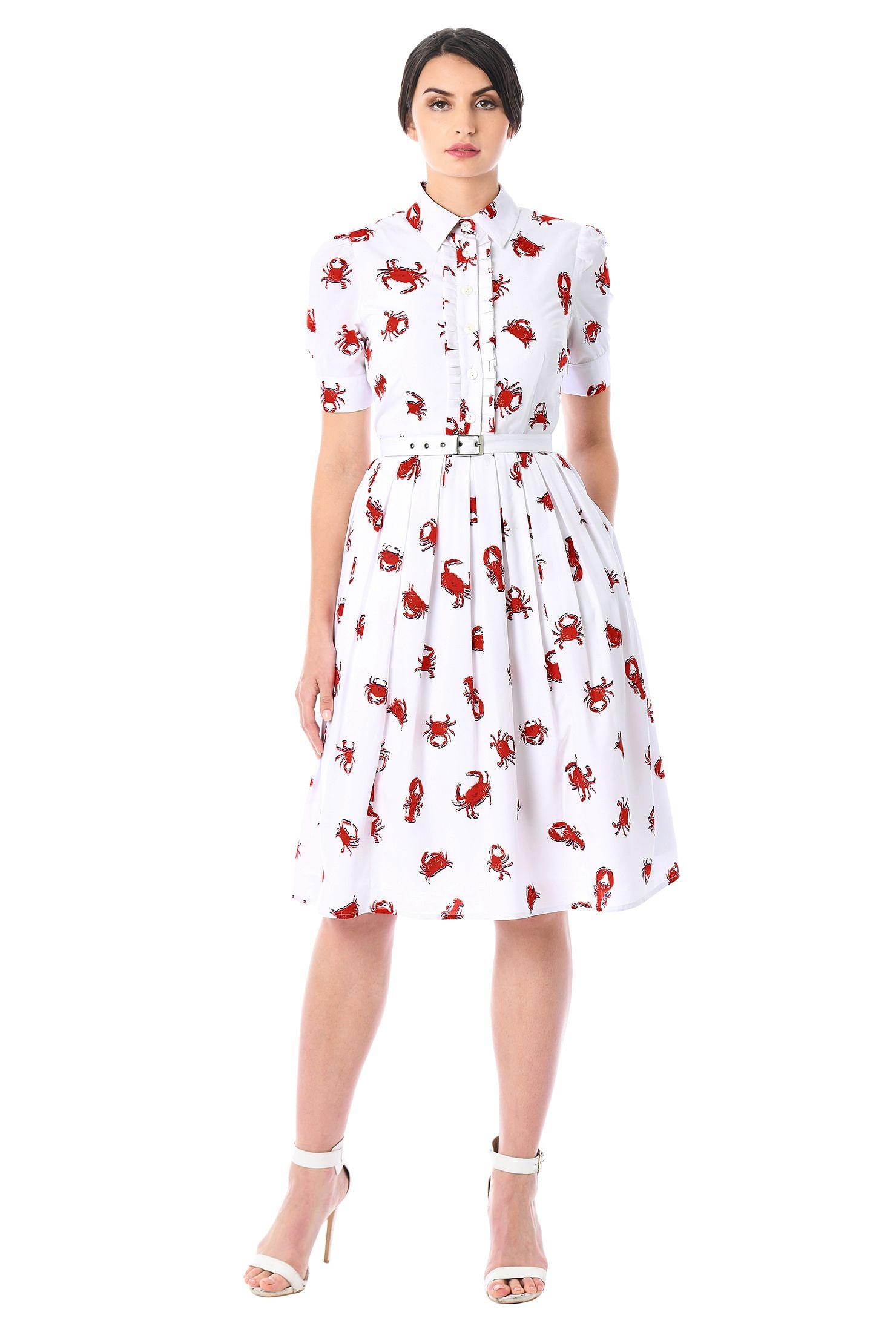 5d405cc70 above elbow sleeve Dresses, below knee length dresses, Box-pleat skirt  dresses,