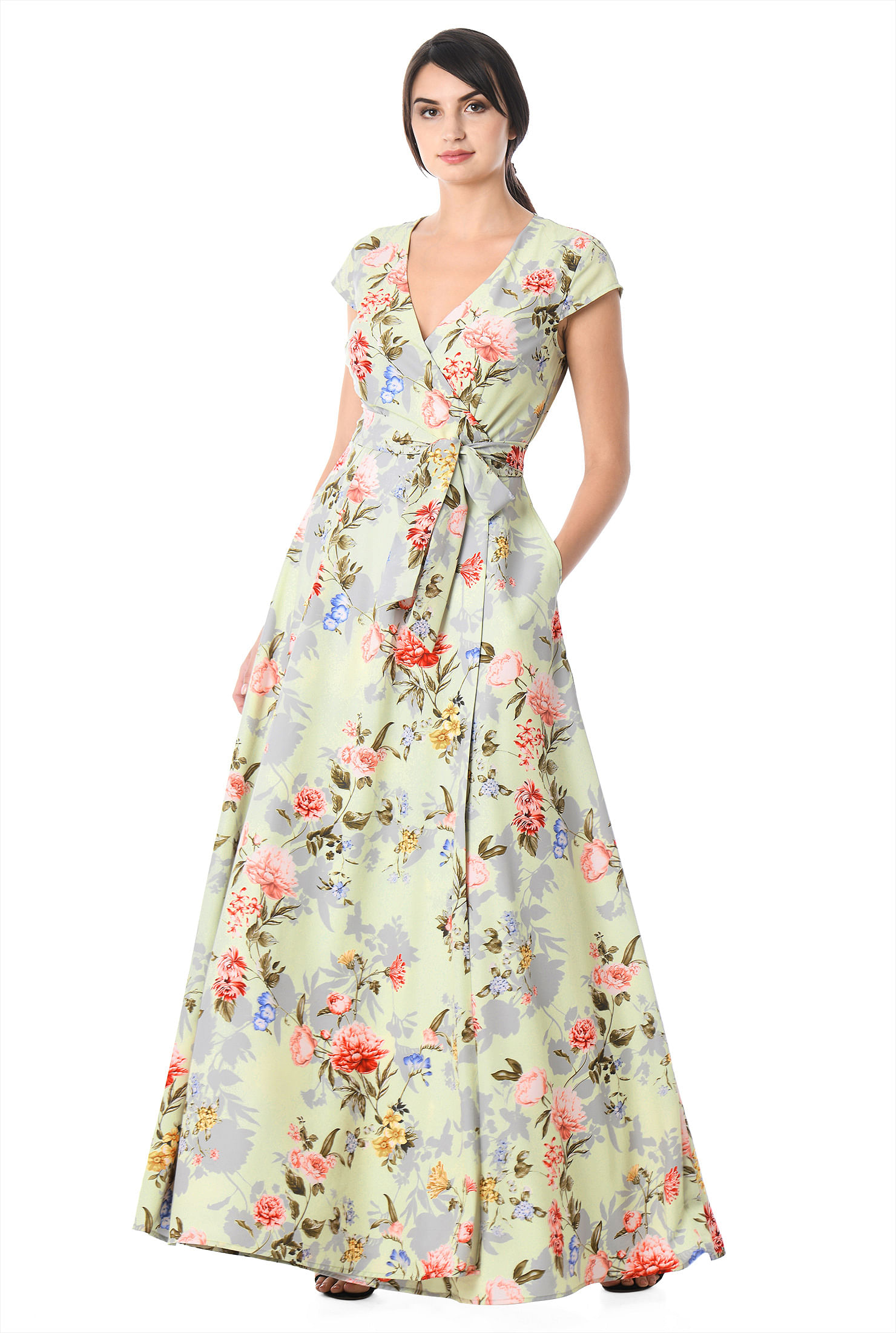 7e95d3f01f8b floral print dresses, full length with 3