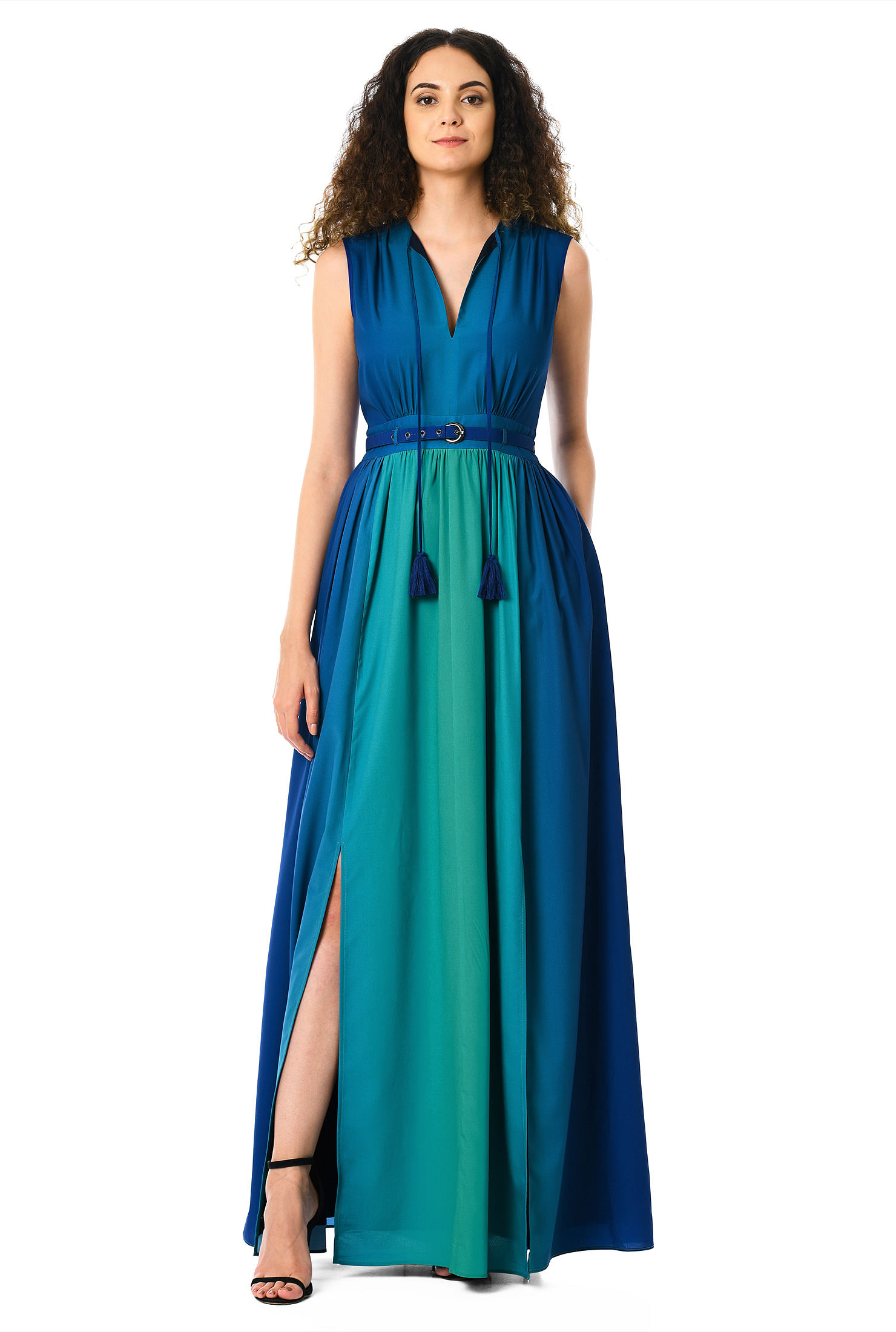 e814528356 blue/green dresses, Full Length Dresses, lightweight Dresses, machine wash  dresses