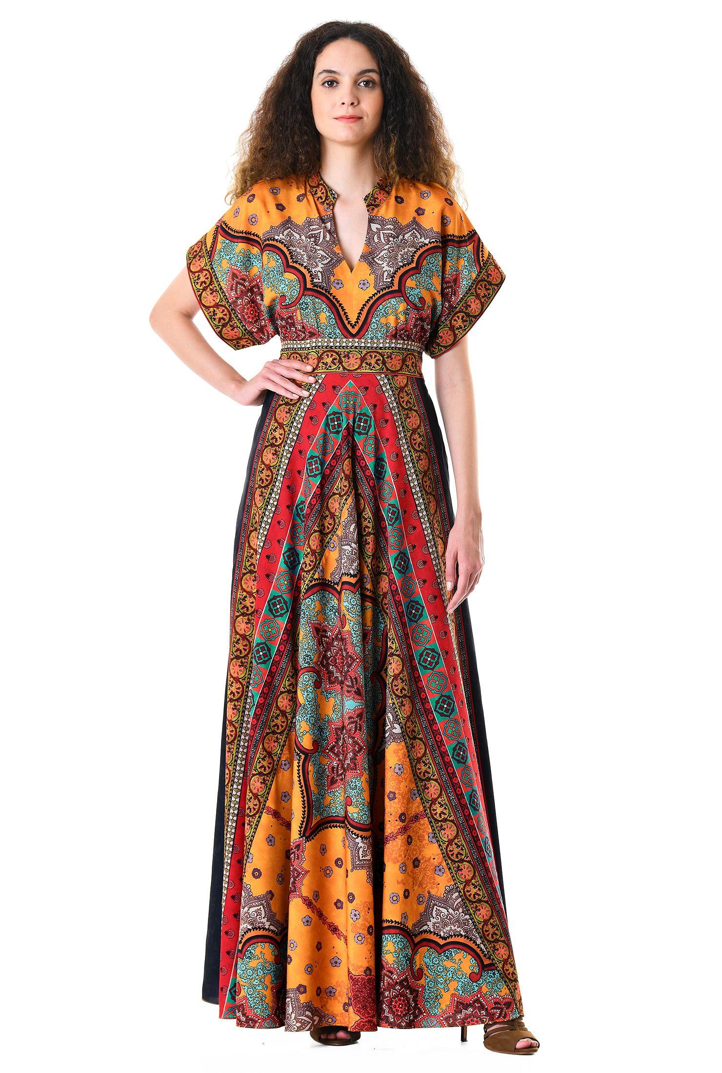64090b581f1f9 bohemian, cover-ups, crepe dresses, dolman sleeve dresses, empire waist