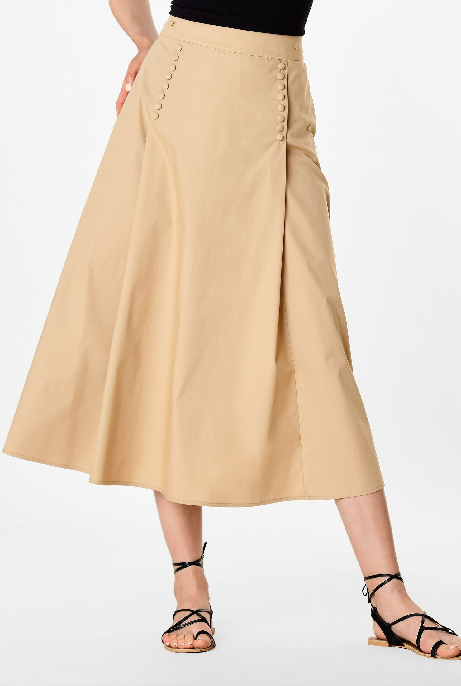 fe7cc65e54 Yellow Chiffon Pleated Maxi Skirt